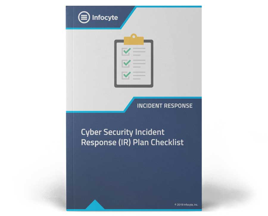 cyber security incident response ir plan checklist
